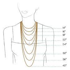 necklace size images Sasha necklace gold siver shaya nyc jpg