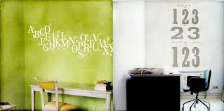 Beautiful Wall Stickers by Decoration Green And White Wall Decal1b Beautiful Wall Stickers