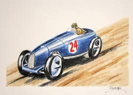 vintage cars drawings owings art studio race car colored pencil drawing