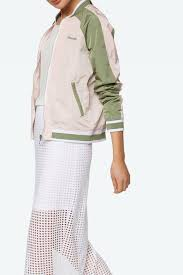 bench color block bomber from canada by manhattan clothing