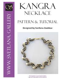 necklace patterns images Kangra crescent bead spiral necklace pattern tutorial jpg