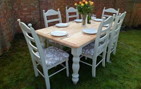 shabby chic kitchen table mada privat
