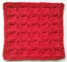 free free twist stitch dishcloth knitting patterns patterns
