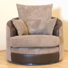 styles circle ottoman with storage cuddler chair brown