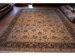 Red And Blue Persian Rug by 10 U0027 X 14 U0027 Persian Floral Rug Light Brown Taupe Tan Blue Gray