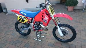 honda cr 500 1989 honda cr 500 robin 48 u0027s bike check vital mx