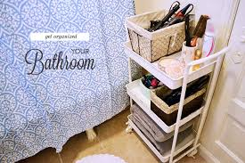 organized bathroom ideas bathroom organization ideas for your apartment