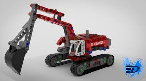 maserati lego lego technic excavator by rooboy3d on deviantart