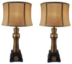 duck call lamp set of 2 traditional lamp sets by jenkins
