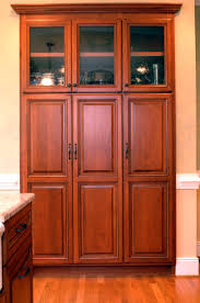 kitchen elegant wooden kitchen island pantry cabinet design