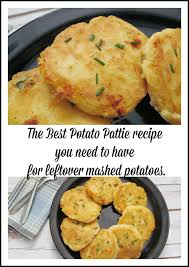 the best potato pattie recipe you need to for leftover mashed