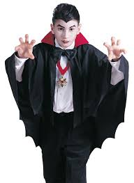 halloween costume with cape classic vampire halloween costume child size in unisex kids