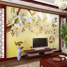 wallpaper for walls cost modern flower wall murals chinese large mural wallpaper fresco retro
