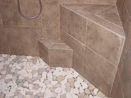 Bathroom Shower Floor Ideas Beautiful Decoration Stone Shower Tile Project Ideas Pebble Shower