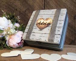 wedding wishes nautical wishes box etsy