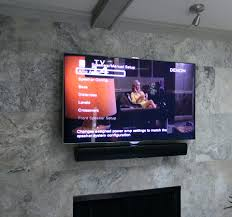 cost to install tv over brick fireplace marble installation above