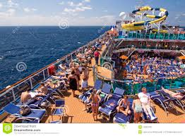 carnival cruise ship relaxing on deck editorial photography carnival cruise deck dream pool relaxing ship