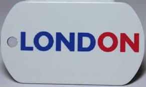 London Flag Greater London Flag Tag