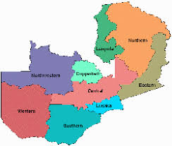map of zambia zambia desktop mapping tools for office 97