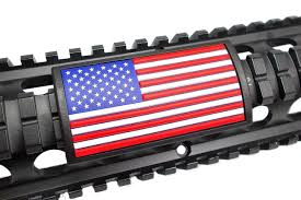 Blackhawk Flag American Flag Tan Rail Covers For Your Ar15 Or Any Gun
