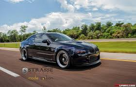 lowered cars jerez black bmw m3 lowered on sm7 strasse wheels gtspirit