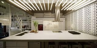 cuisine atypique cuisine avec éclairage atypique