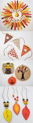 10 diy fall thanksgiving craft ideas thanksgiving