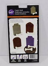 wilton candy mold tombstones bones halloween treats cupcake decor