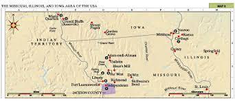 map usa iowa church history maps the missouri illinois and iowa area of the usa