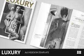 magazine templates creative market