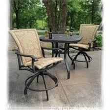 outdoor sling bar stools open travel