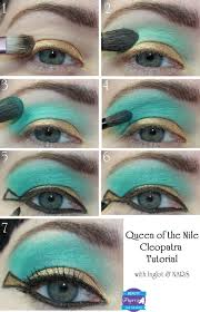 queen of the nile cleopatra tutorial great for hooded eyes