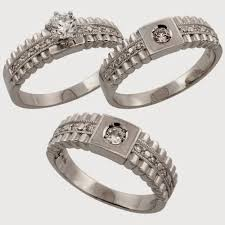 cheap wedding ring sets 3 wedding ring sets williams
