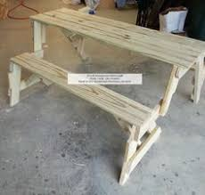 Plans For Picnic Table Bench Combo by Folding Bench And Picnic Table Combo Pdf Woodworking Plan Pdf
