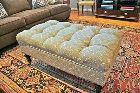 Diy Ottoman From Coffee Table by Coffee Table Round Tufted Ottoman Upholstered Coffee Table Il Full