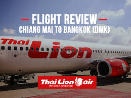 lion air flight review thai lion air chiang mai to bangkok dmk