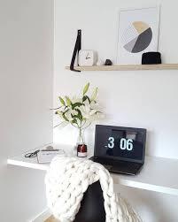 petit bureau scandinave aménagement d un petit espace de travail le bureau style