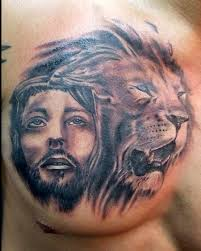 jesus and by steve phipps tattoos