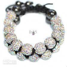 bead bracelet crystal images Hot 10mm crystal ab rhinestone shamballa crystal ball bead jpg