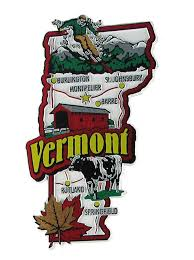 Vermont travel cards images 64 best usa souvenir magnets images travel jpg