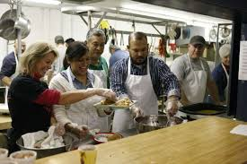 midland soup kitchen ministry serves up thanksgiving meal