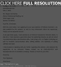 best ideas of editorial assistant cover letters for sample
