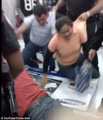 walmart led tv black friday brawls and arrests on u0027gray thursday u0027 overshadow quiet black