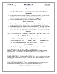 Resume For Photography Job by Fleming J Resume