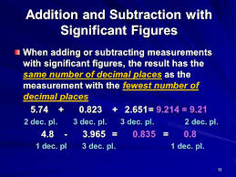 1 significant figures significant figures tell us the range of