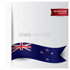 Nee Zealand Flag New Zealand Flag Design Vector Image 2017285 Stockunlimited