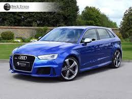 audi rs3 blue used audi rs3 blue for sale motors co uk