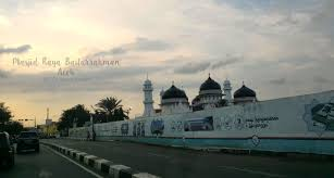 masjid raya baiturrahman banda aceh indonesia my travelling