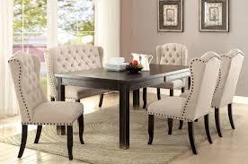 6 Black Dining Chairs Furniture Of America Sania I Chair Cm3224bk Sc 2pk Savvy