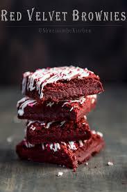 red velvet brownies shweta in the kitchen
